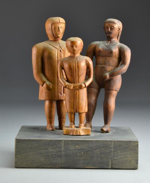Anthony  Orlando Folk Art Wood Carving