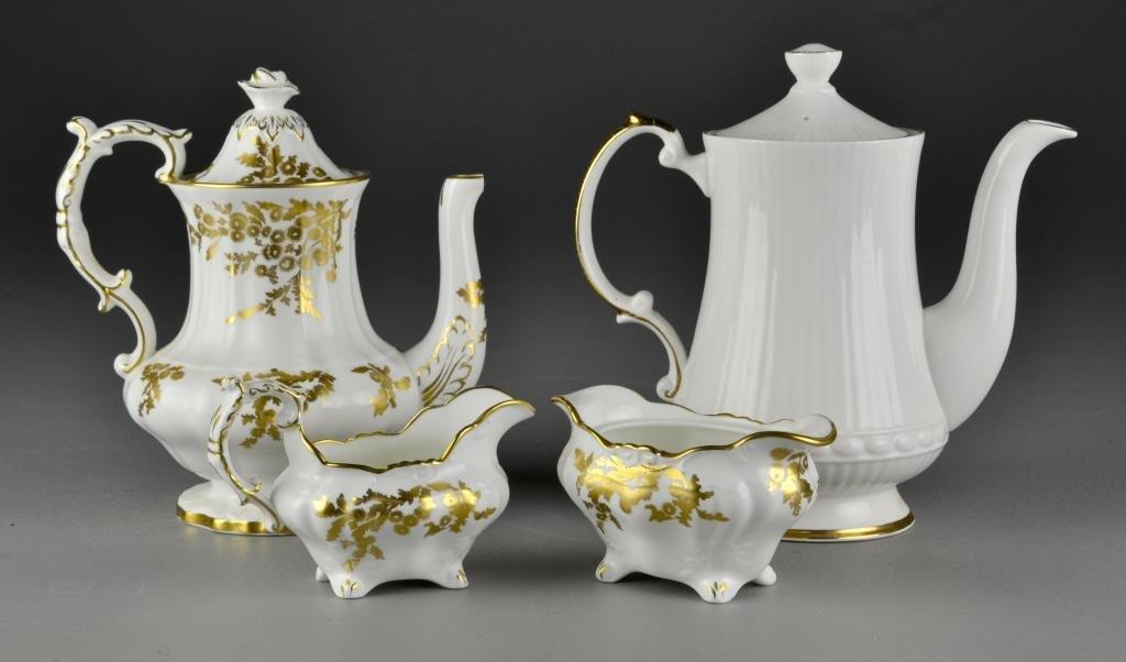 An English Porcelain Tea Set and More