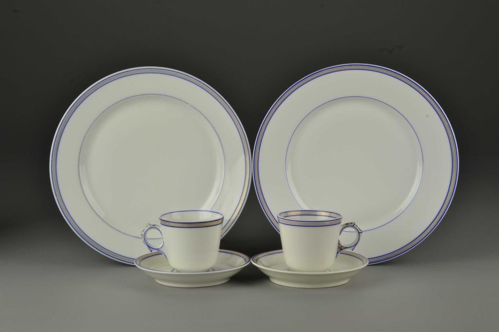 (6) Pcs French Jullien Fils Aine Porcelain