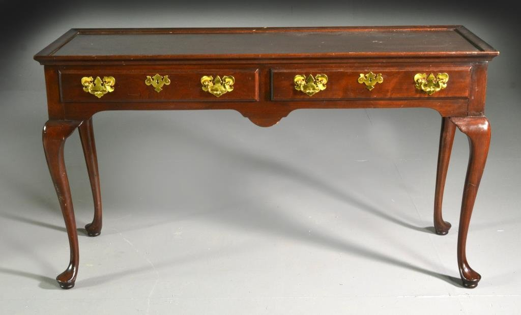 Harden Cherry Queen Anne Style Sofa Table