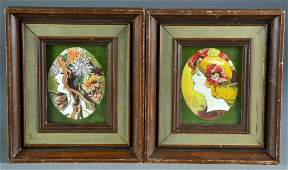 2 Anthony Orlando Watercolor Paintings on Paper