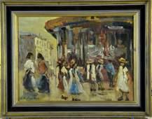 George Hendrik Breitner Dutch Oil Painting on Board