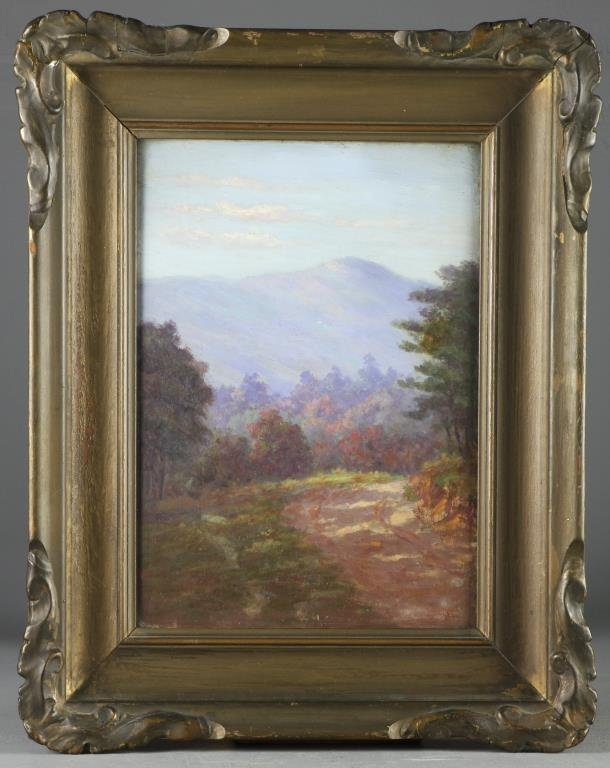 A Lucien Whiting Powell Oil Painting on Board