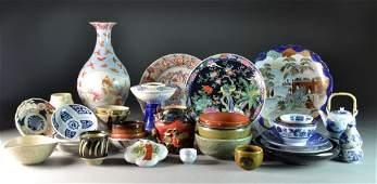 (34) Pcs. Chinese & Japanese Porcelain