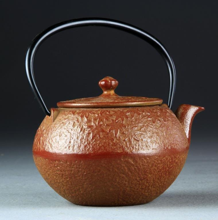 Japanese Oigen Cast Iron Tea Pot