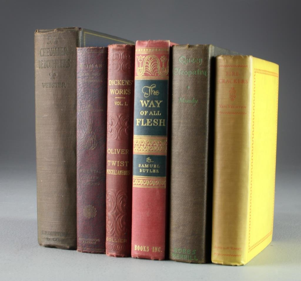 (6) Early 20th Century Novels,  Etc.