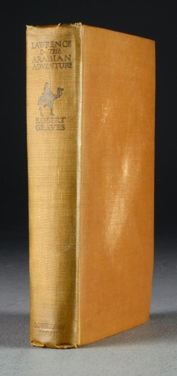 1928 Lawrence And The Arabian Adventure First Edition