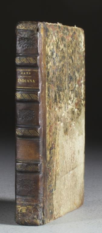 1836 Indiana By George Sand French Language Publication