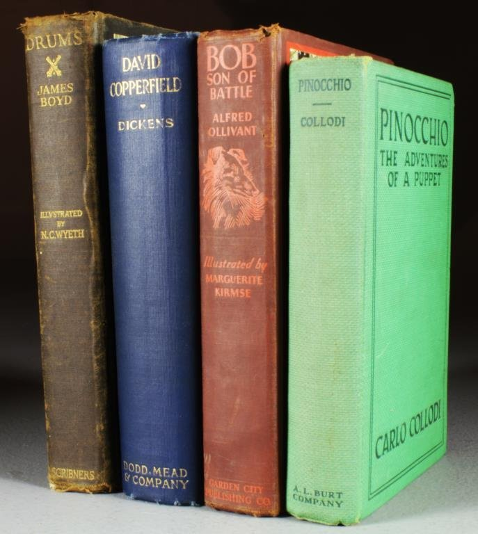 (4)Late 19th & Early 20th Century Illustrated Books
