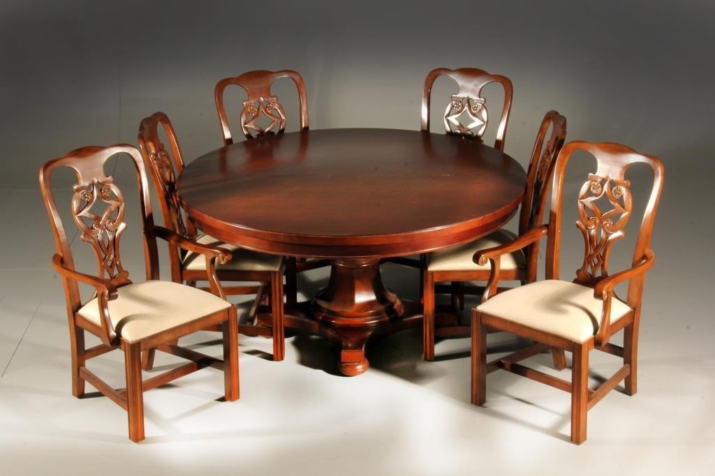 (8) Pc Bernhardt Mahogany Dining Set