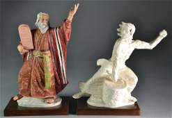 (2) Laszlo Ispanky Limited Edition Porcelain Figures