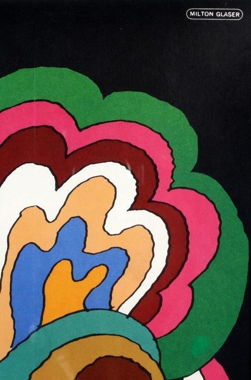 Framed Bob Dylan Album & Milton Glaser Poster - 2