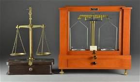 (2) Antique & Semi-Antique Balance Scales