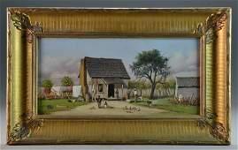 A William Aiken Walker Oil Painting on Board
