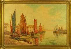C Hjalmar Cappy Amundsen Oil Painting on Canvas