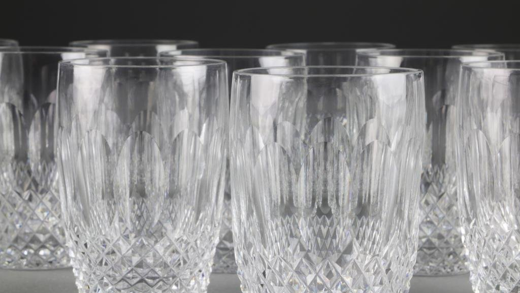 (12) Waterford Cut Crystal Whiskey Glasses - 2