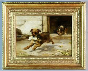 W. H. Trood Oil Painting on Canvas