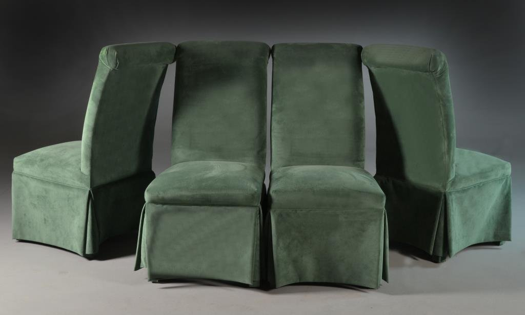 (4) Upholstered Dining Chairs - 2