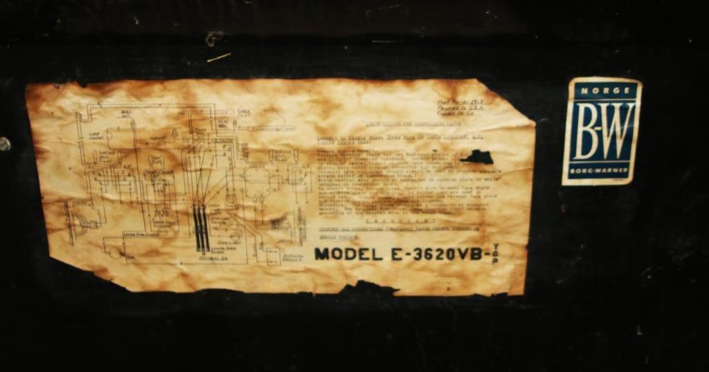 1955 Norge Futura Automatic Electric Range Stove - 2