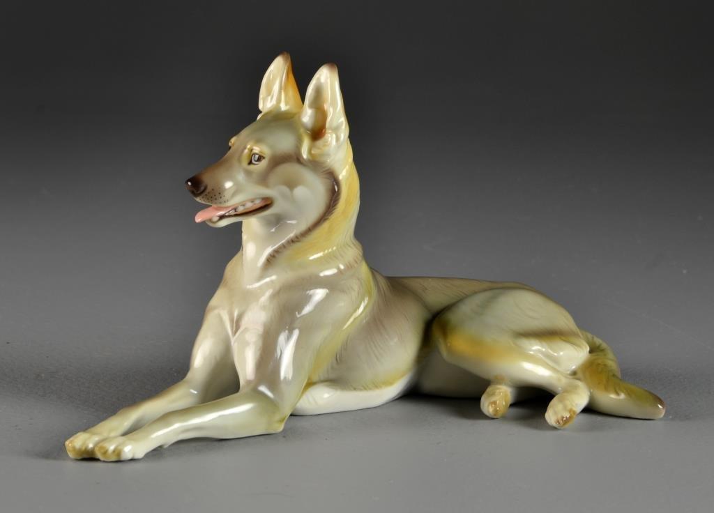 Theodor Karner for Nymphenburg Porcelain Figure