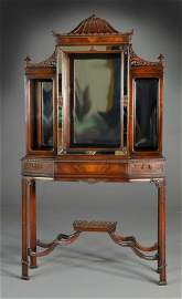 Chinese Chippendale Style Cabinet