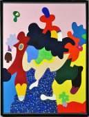 Otmar Alt Acrylic Painting on Canvas
