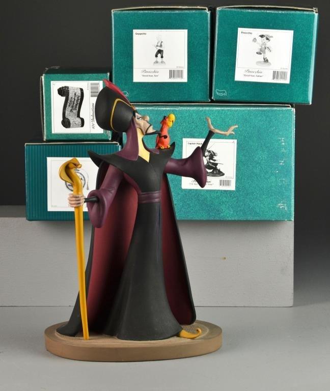 (6) Walt Disney Classics Collection Figurines
