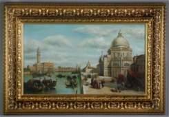 Italian School Oil Painting on Canvas