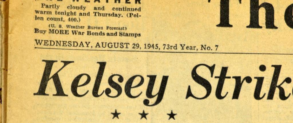 (7) WW2 Detroit Newspapers: Hitler Dead,Pearl Harbor - 2