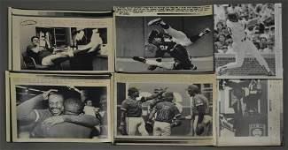 (12) Chicago Cubs & Chicago White Sox Press Photos