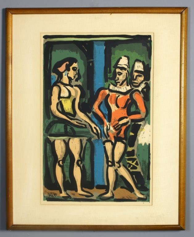 "Georges Rouault ""Parade"" Serigraph"