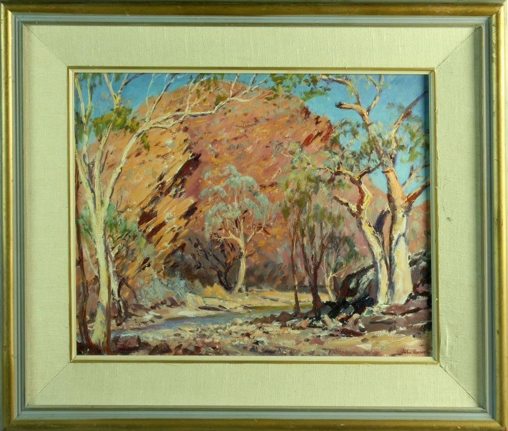 John Thomas Rowell Oil Painting on Canvas