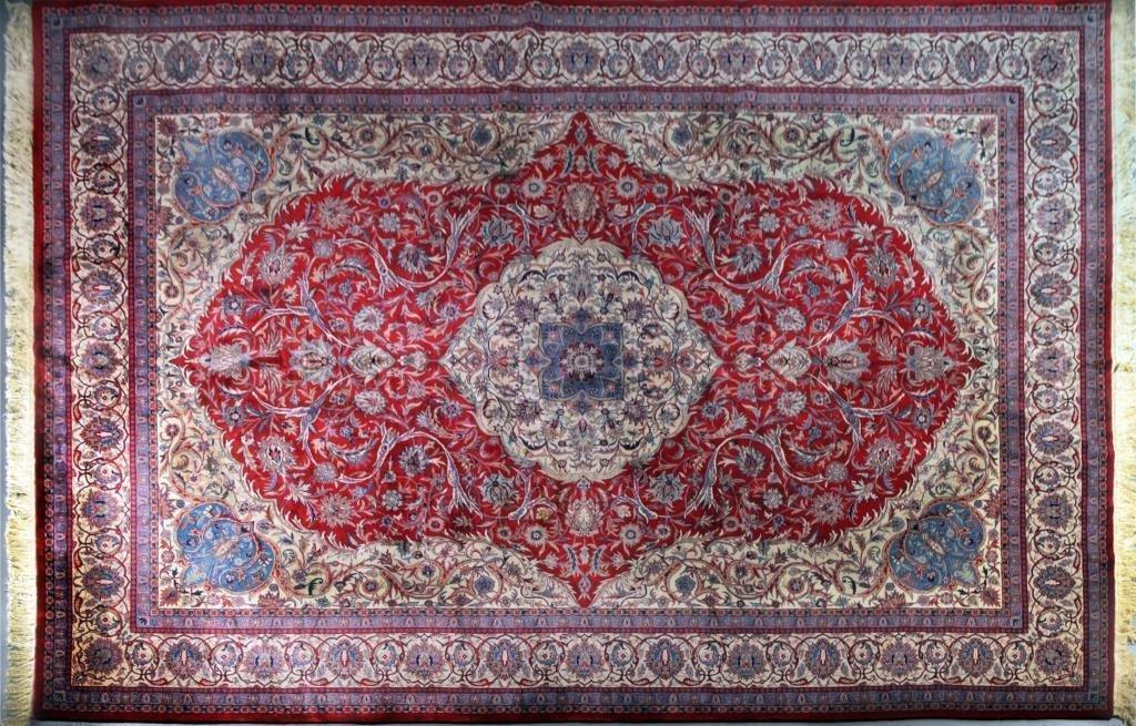 Fine Chinese Silk Carpet