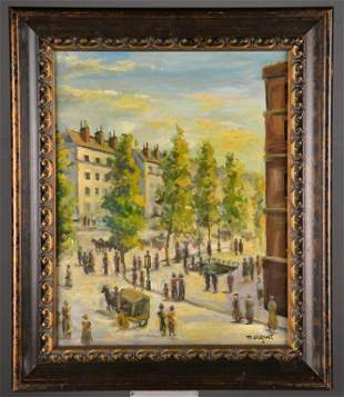Attributed to Albert Marquet Oil Painting on Canvas