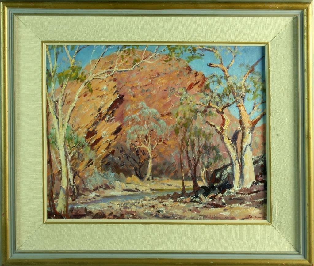 John Thomas Rowell Oil Painting on Canvas