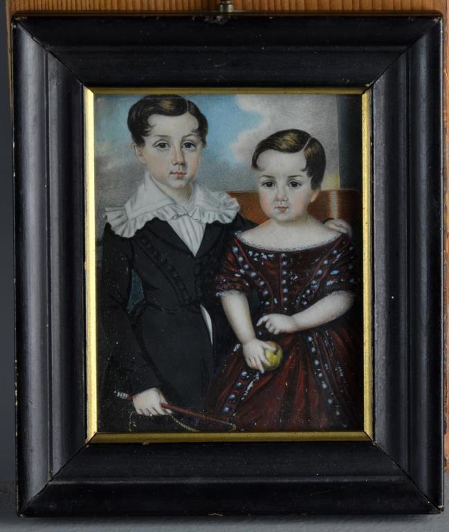 Elisabeth Louise Vigee-Leburn Painting on Ivory
