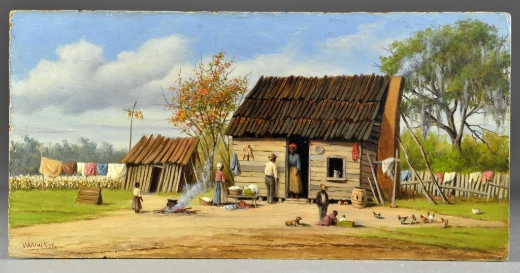 William Aiken Walker Oil Painting on Board