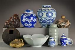 11 Pcs Chinese Porcelain  Decorative Arts