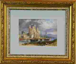 William Andrews  Nesfield Watercolor Painting