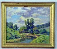 Helen Saviar DuMond Oil Painting on Board