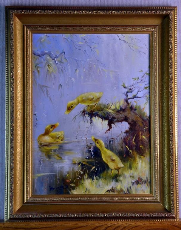 Hendrik Breedveld Oil Painting on Canvas