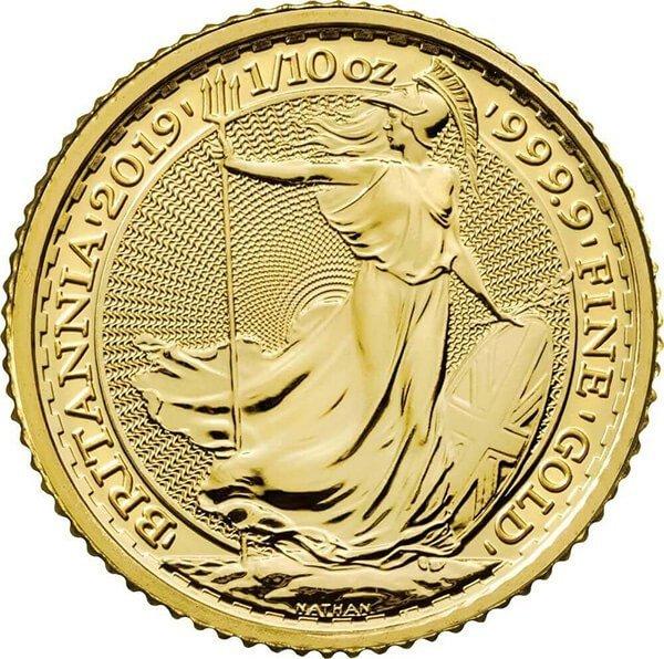 1/10oz Gold coin