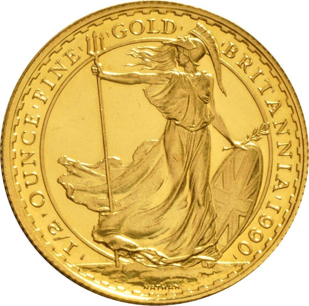 1/2oz Gold coin