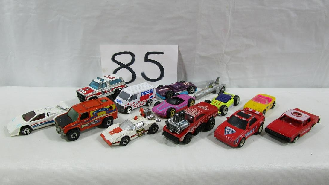 Lot Of 13 Toy Metal Cars