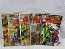Lot Of 5 Comic Books Mavel Comics