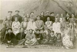 Immigrant families from Bukhara Jews  photographs