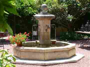 French Limestone Fountain Hand-carving, Provence France