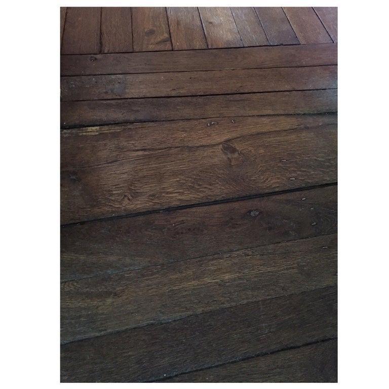 French Antique Wood Oak 500 sqf Flooring 18th C