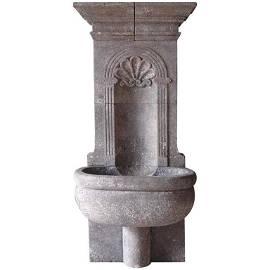 Italian Renaissance Style Wall Fountain limestone 21stC