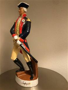 French Antique Lafayette statue from France 20th C
